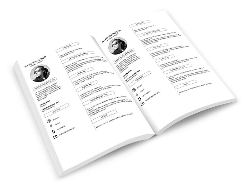 gratis layout til blå bog